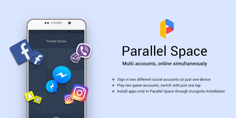Two Accounts: Parallel Space vs Multiple Accounts