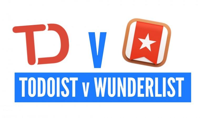Productivity Apps: Todoist vs Wunderlist